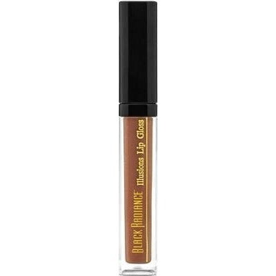 Black Radiance Illusions Lip Gloss, Elegant Bronze, 0.14 Ounce