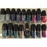 (3 Pack) WET N WILD Megarocks Glitter Nail Color - Creative Control
