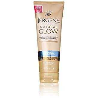Jergens Natural Glow Firming Moisturizer for Fair to Medium Skin Tones for Unisex, 7.5 Ounce