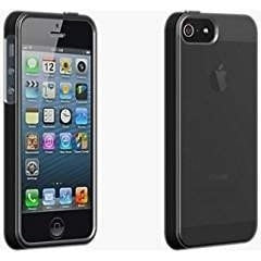 Apple iPhone 5 OEM Verizon Wireless High Gloss Silicone Cover - Black - AT&T/...