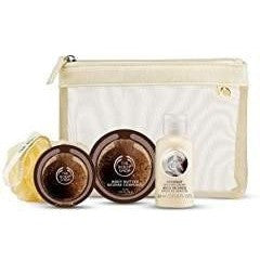 Body Shop Coconut Shower Scrub and Moisture Gift Set
