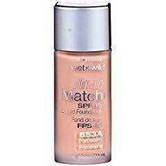 Wet N Wild Ultimate Match Liquid Foundation: Porcelain #853A