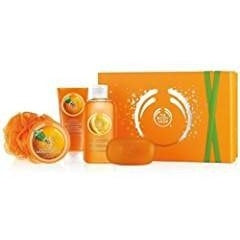 The Body Shop Satsuma Shower, Scrub & Soften Collection