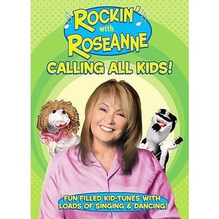 Rockin With Roseanne - Calling All Kids Dvd