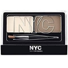 N.Y.C. New York Color Browser Brush On Brow Kit, Brunette, 0.03 Ounce