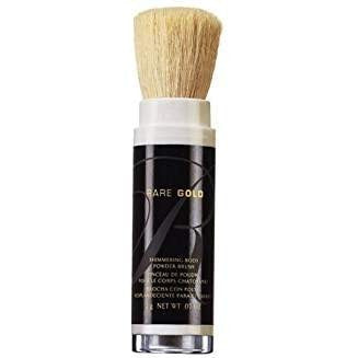 Avon Rare Gold Shimmering Body Powder Brush 0.07oz.