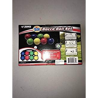 Bocce Ball Set 8 70mm and 1 32mmBy Triumph