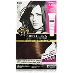 John Frieda Precision Foam Colour Hair Dye, Medium Chestnut Brown