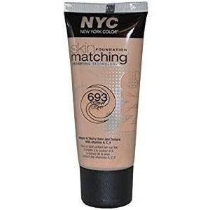 N.Y.C Skin Matching Foundation 693 Tawny Light 30ml
