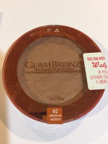 L'Oreal Glam Bronze for Face & Body Bronzer, 03 Deep