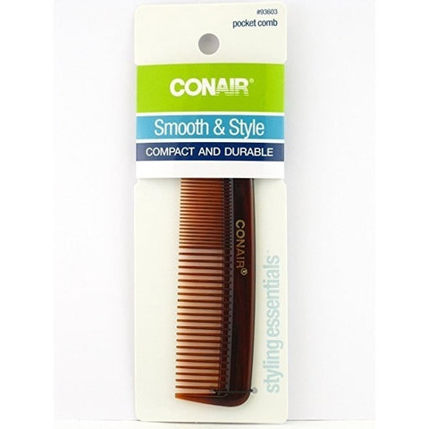 Conair Styling Essentials Pocket Comb, 1 comb