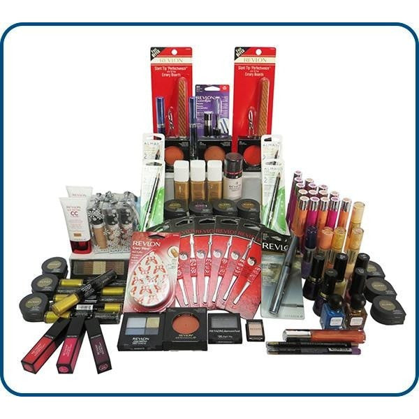25 Piece Revlon Cosmetics Makeup Assorted Mixed Lot