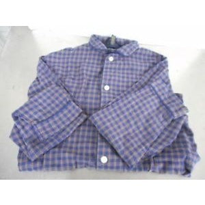 40$ Club Room Pajama Red Blue Plaid Flannel Small