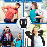 shopsharpe.com Adjustable Adult Corset Posture Correction Belt for Men Women Back Posture Brace Support Stop Slouching  Hunching Back Trainer