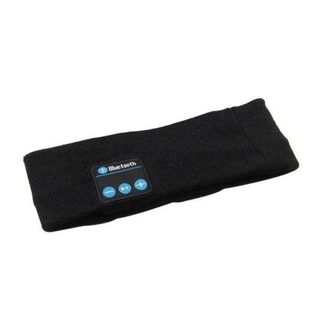 shopsharpe.com black ProConnect Sports Bluetooth Headband Strap