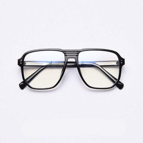 shopsharpe.com Blue Light Glasses C1Black Hex Unisex Anti Blue Light Glasses