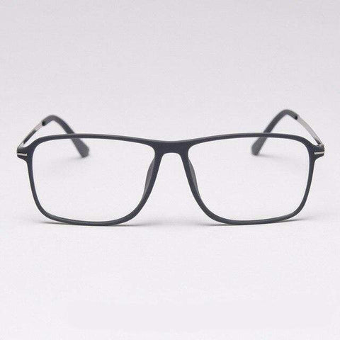 shopsharpe.com Blue Light Glasses C6Matte-Gray Prism Men's Anti-Blue Light Glasses