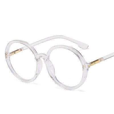 shopsharpe.com Blue Light Glasses Clear Flex Unisex Oversized Anti-Blue Light Glasses