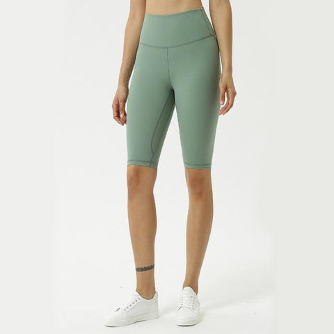 shopsharpe.com green / S 6 Modish High Waist Yoga Cycling Shorts