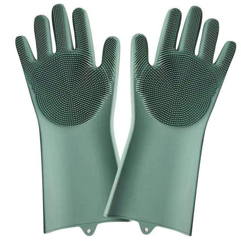 shopsharpe.com Green ZanyGlove Astonishing Kitchen Cleaning Gloves