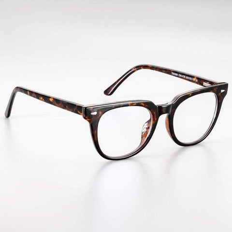 shopsharpe.com leopard 51026 Retro Anti-blue Light Plastic Titanium Glasses Frames Ultralight Men Women Optical Fashion Computer Glasses