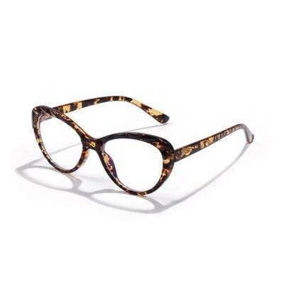 shopsharpe.com leopard / China Anti Blue Light Glasses Frame Women's Eyeglass Cat eye Frame Computer Eyeglasses Vintage Women Spectacles Transparent Frames
