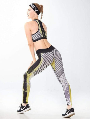 shopsharpe.com Vita Printed Gym Leggings & Top Set