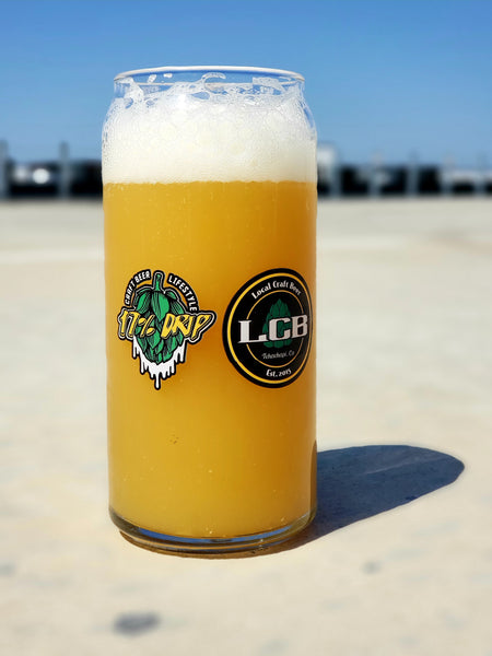 """The Drip"" Glassware Collab With LCB Brewery & 17% Drip"
