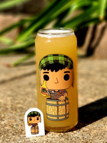 EL Chapulin Colorado Hop & EL Chavo Hop (Homage Glass)