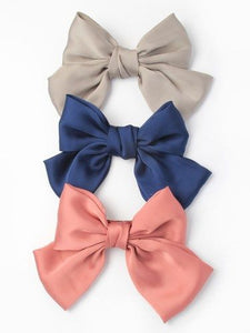 Large Satin Bow