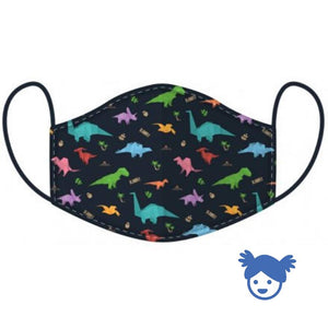 Children's Dinosaur Face Cover
