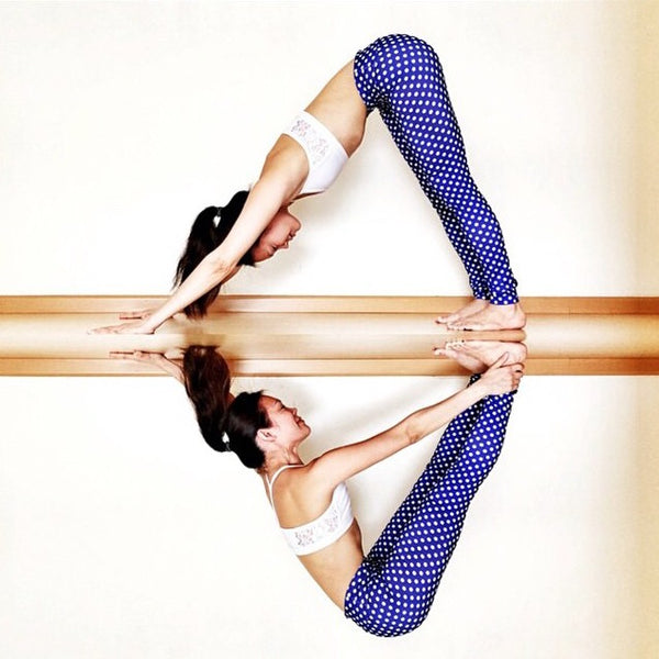 InYo Best Polka Dot Yoga leggings @yogaberd