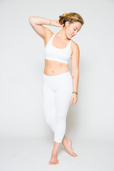 Fresh White Capris - InYo ®  - 2