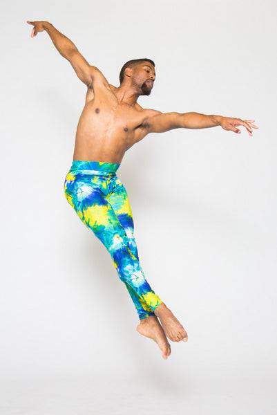Men's Tie-Dye Leggings