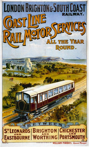 Trains & Trams Posters