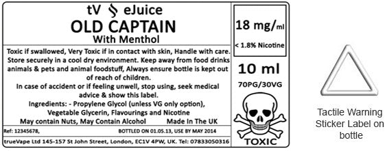 e Liquid Label