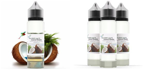 Coconut Paradise Long Fill E Liquid 100% VG