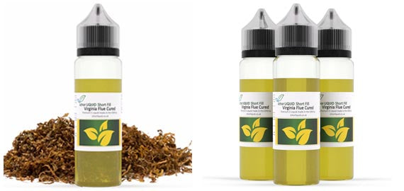 Virginia Flue Cured Short Fill E Liquid 100% VG
