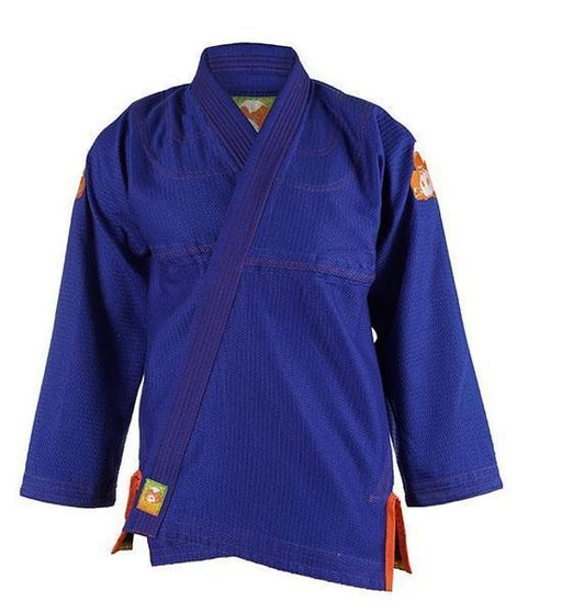 Inverted Gear Gold Weave 2.0 BJJ Gi Blue (damaged/stitching)