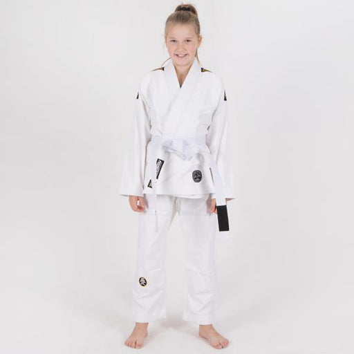 Tatami Kids Nova Absolute White (stained collar)
