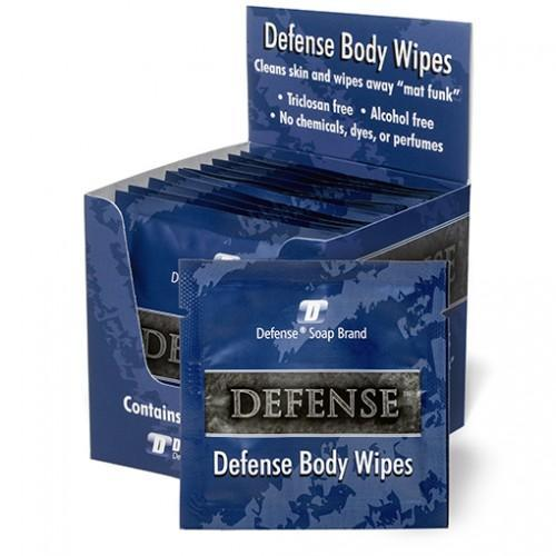 Defense Single Body Wipes 12 pack