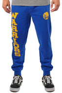 NBA Golden State Warriors Men's Soft Terry Sweatpants|Golden State Warriors