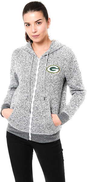NFL Green Bay Packers Women's Full Zip Hoodie|Green Bay Packers