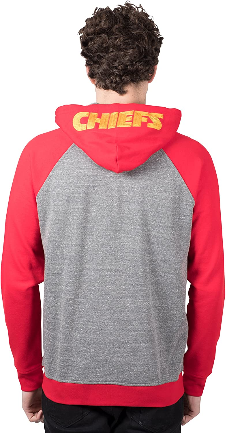 NFL Kansas City Chiefs Men's Full Zip Hoodie|Kansas City Chiefs