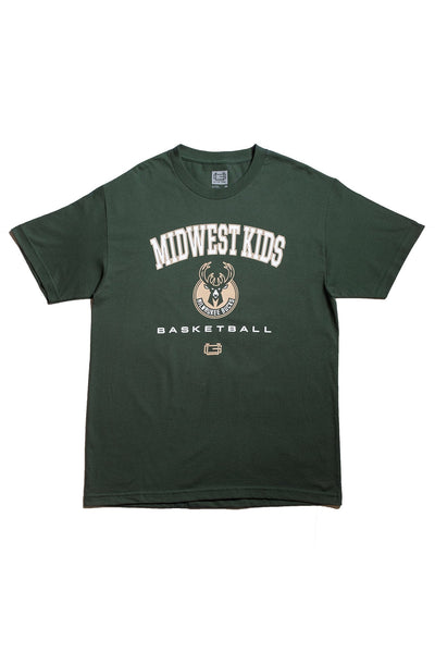Midwest Kids x Ultra Game Milwaukee Bucks Tee