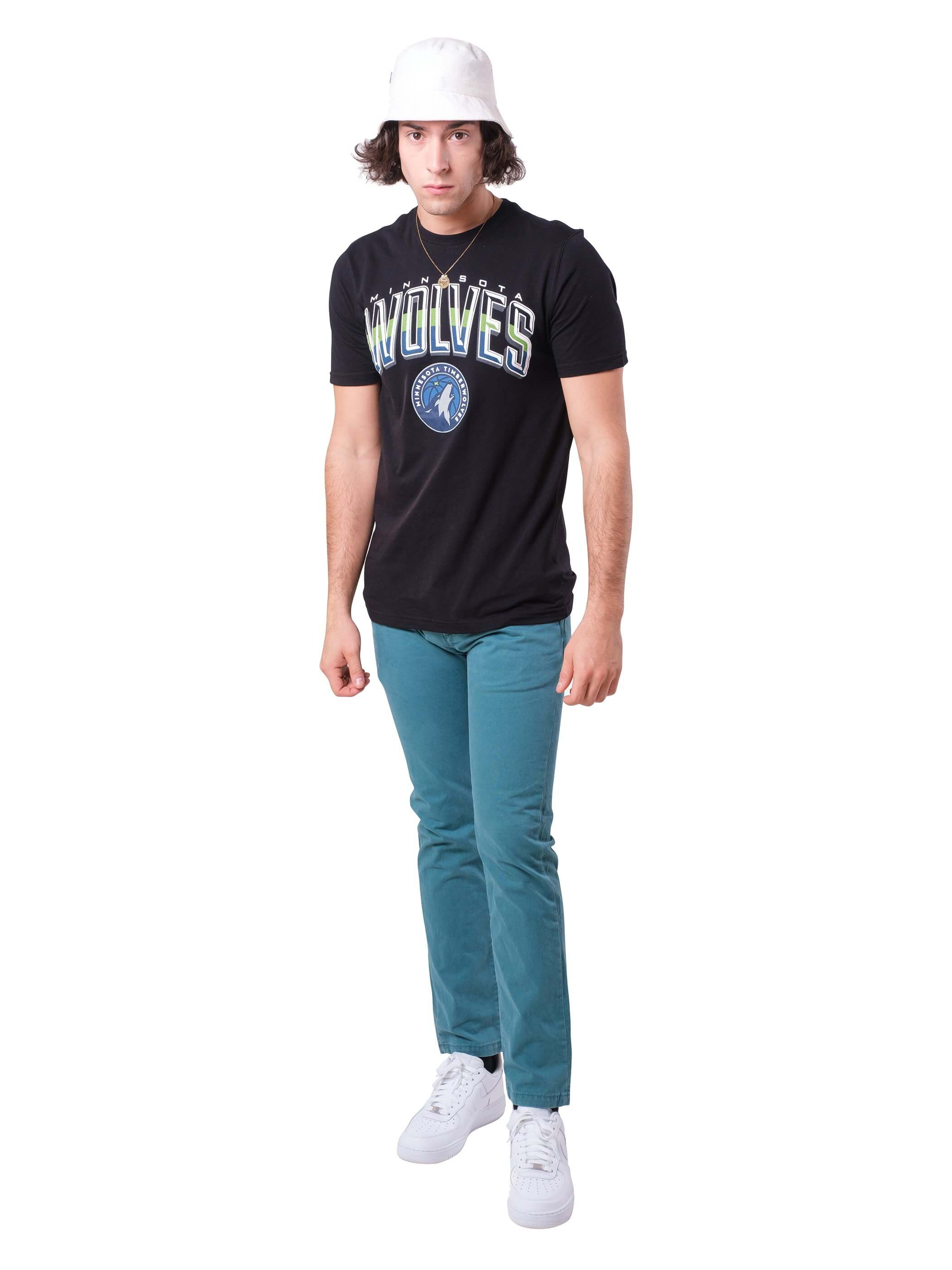 NBA Minnesota Timberwolves Men's Short Sleeve Tee|Minnesota Timberwolves