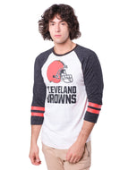 NFL Cleveland Browns Men's Baseball Tee|Cleveland Browns
