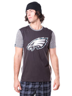 NFL Philadelphia Eagles Men's Raglan Short Sleeve Tee|Philadelphia Eagles