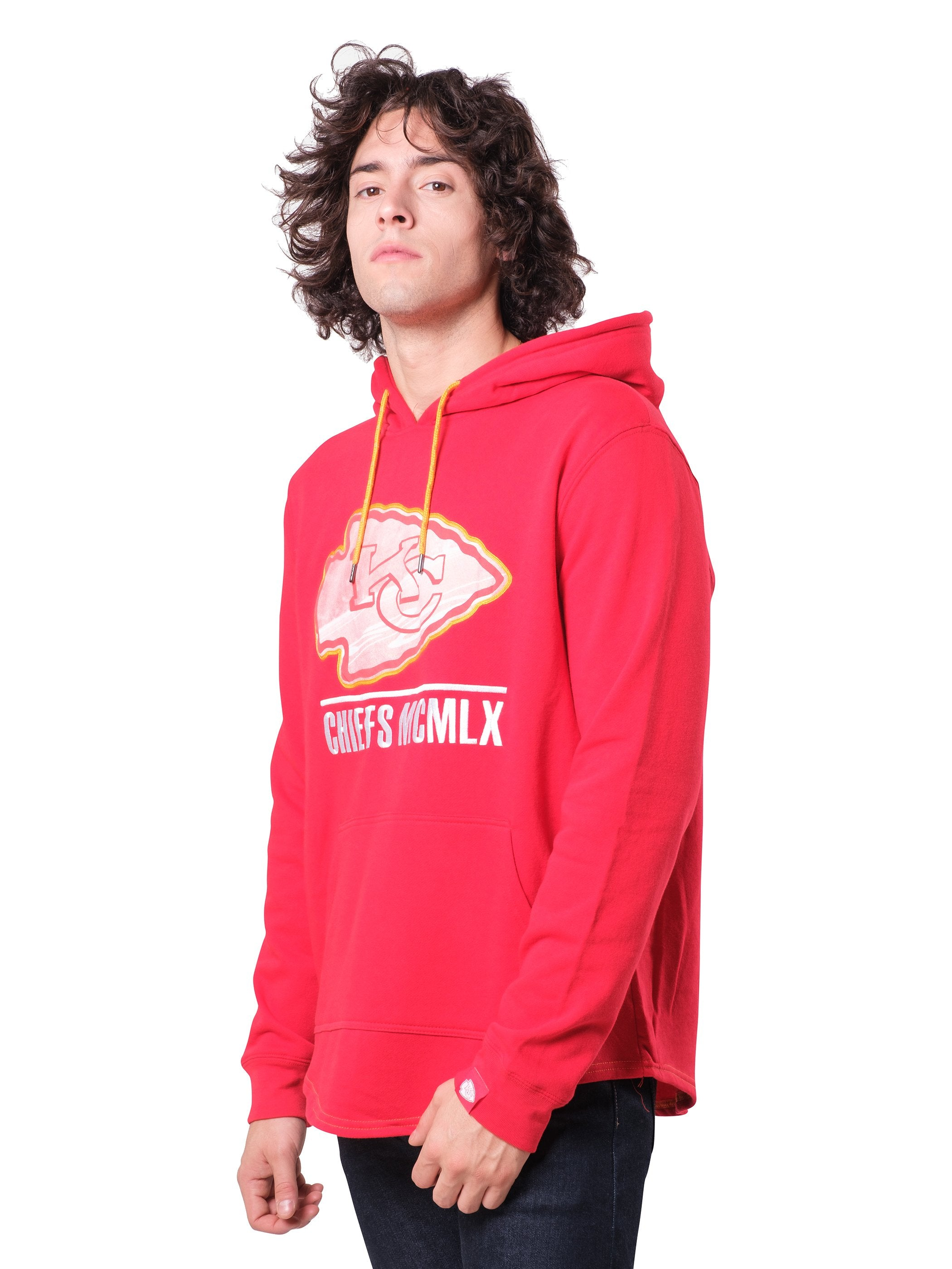 NFL Kansas City Chiefs Men's Embroidered Hoodie|Kansas City Chiefs
