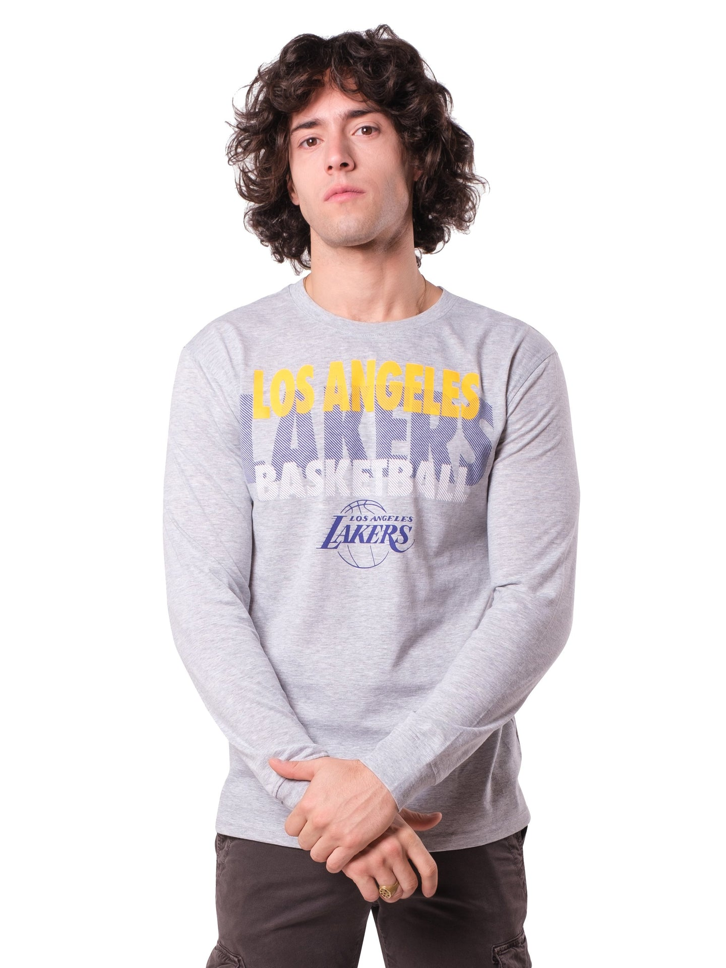 NBA Los Angeles Lakers Men's Long Sleeve Pullover|Los Angeles Lakers